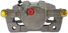 Disc Brake Caliper-Premium Semi-Loaded Caliper Housing &amp Bracket Front Left