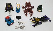 VINTAGE 80'S HASBRO G1 TRANSFORMER LOT - INSECTICONS & MINI CARS