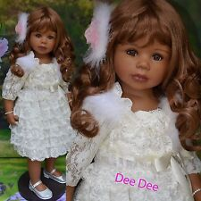 Masterpiece Dolls, Dee Dee, African American Exclusive, Long Brown Wig, Levenig