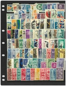 USA Selection of 200 Different Commemorative Stamps In Glassine Bag All Mint