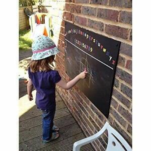 Large Alphabet Printed Unframed Blackboard/Chalkboard, Wood