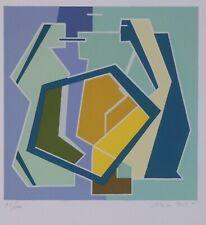 MARIO RADICE  serigrafia del 1984  SENZA TITOLO (2/1)