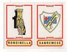 figurina CALCIATORI PANINI 1982/83 NEW numero 433 COMO RONDINELLA SANREMESE