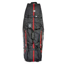 Benross Premium Golf Travel Cover Flight Bag Black Red