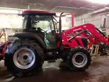 Mahindra 7095 cab tractor with loader, heat and air conditioner. Excellent!