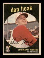 1959 Topps Set Break # 25 Don Hoak VG-EX *OBGcards*