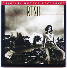 MFSL  GOLD CD   RUSH   ** NEW PROMO **  PERMANENT WAVES    Remastered Audiophile
