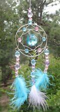 t blue HANGING DREAM CATCHER suncatcher dream Crystal Expressions ornament