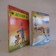 2 bandes dessinées RANTANPLAN LE FUGITIF BÊTISIER 4 LUCKY PRODUCTIONS 1994 1998