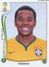 N°047 ROBINHO # BRASIL STICKER PANINI WORLD CUP BRAZIL 2014