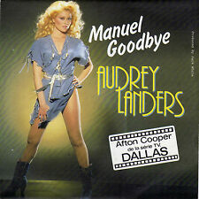 AUDREY LANDERS MANUEL GOODBYE / SHOT DOWN FRENCH 45 SINGLE