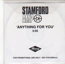 (ED162) Stamford AMP, Anything For You - DJ CD