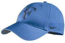 New Nike RF Roger Federer Hat Cap Blue / Armory Navy Tennis  Dri Fit 371202-441