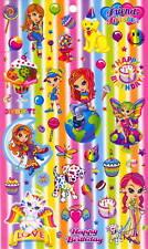LisaFrank animals, girls & treats, Happy birthday, big & small 50+ Stickers