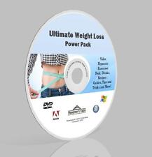 Weight Loss Complete Pack DVD - Video,Guides,Software,Hypnosis,Recipes, More!