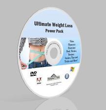 Pérdida De Peso Completo Pack Dvd-Video, guías, software, Hipnosis, recetas, más!