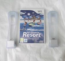 WII SPORTS RESORT E MOTION PLUS X 2 WII