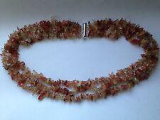 Sunstone 925 Sterling Silver Necklace