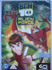 Ben 10 - Alien Force Vol.6 War of the Worlds (DVD, 2011) NEW SEALED Region 2 PAL