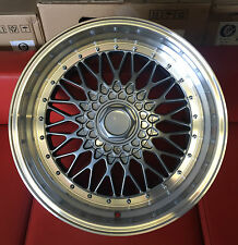 "18"" BBS RS STYLE ALLOY WHEELS FITS VOLKSWAGEN GOLF JETTA SEAT S"