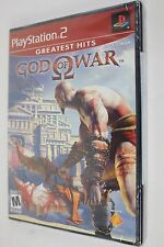 New Sealed God of War Sony PlayStation 2 PS2 Greatest Hits Game