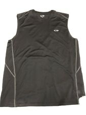 Champion Duo Dry Black Sleeveless Athletic Tank Top Workout Shirt Men's Sz L