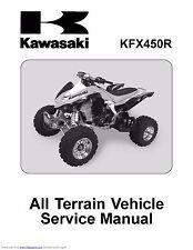 Kawasaki service manual 2008 & 2009 KFX450R
