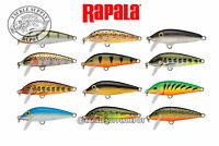 Rapala Countdown Minnow CD05 Sinking Balsa Crankbait 2in 3/16oz - Pick