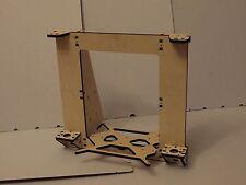 8mm Reinforced 3D Printer Rework Prusa i3 Frame LaserCut PlyWood + screws