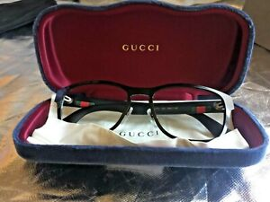 GENUINE GUCCI Eyeglasses GG1750 002  54 17 145  Glasses Frame, WITH  CASE