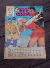 """VTG 1973 MEXICAN COMIC ALMA GRANDE No. 615 """"LA TRAICION DEL PUMA"""" ED. HERRERIAS"""