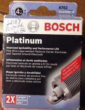 New Lot of 4 X Bosch  Platinum 6702 Plugs - 2x Longer Service Life