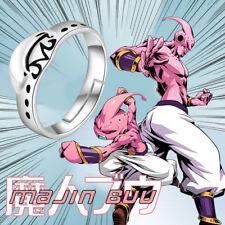 Dragon Ball Majin Buu Anime 925 Sterling Silver Adjustable Ring Cosplay Gift #7