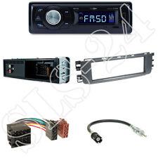 Caliber RMD021 Radio + Smart ForTwo (W454) 1-DIN Blende schwarz + ISO Adapter