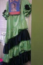 Ex hire ladies spanish  flamenco fancy dress outfit costume
