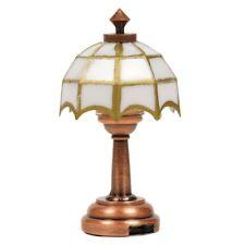 1:12 Puppenhaus Zubehör Mini Tisch / Schreibtischlampe Tiffany LED Light, Gift