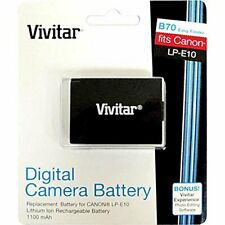 Vivitar LP-E10 Replacement Battery for Camera Accessories