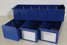 SSI Schäfer Regal-Lagerbox Lagerkasten Box Kiste Kasten Metall blau 50x16x12 cm
