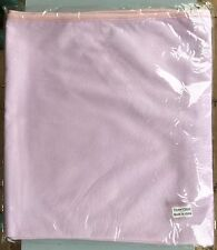 Clearance Antibacterial 100% Bamboo Standard Cot Protector Cover 130x70cm Pink
