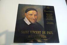 SAINT VINCENT DE PAUL LP TEXTE SUZANNE CORNILLAC FERNAND LEDOUX EMILE DELPIERRE