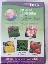 Jerry Baker: Year Round Gardening, SEALED 5 DVDs