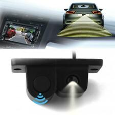 2 in 1 Car SUV Reverse Backup Parking Rear View Camera With Parking Radar Sensor