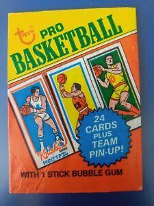 1980-81 Topps Basketball empty wax wrapper (Bazooka Has It All!) variation