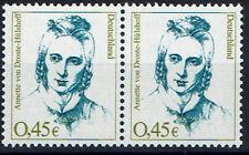2295 **, BRD 2002, Droste-Hülshoff, waagr.  Paar