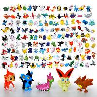 24-144Pcs Mini 2-3cm Pokemon Monsters Random Action Figure Plastic Toys Set
