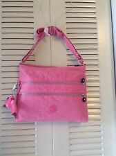 "KIPLING ALVAR MEDIUM CROSSBODY HANDBAG ""PINK MACAROON"" NEW WITH TAGS"