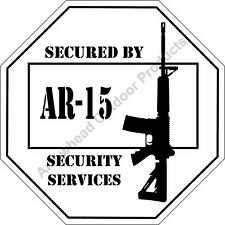 Secured by AR-15 Security Services 12