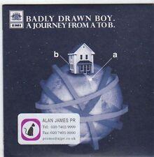 (EM933) Badly Drawn Boy, A Journey From A to B - 2007 DJ CD