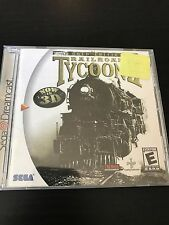 Railroad Tycoon II (2) Gold Edition (Sega Dreamcast) - Tested - Complete