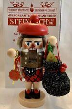 "Steinbach German Nutcracker S1527 Troll Scottish Santa 12"" Original Box & Tag"